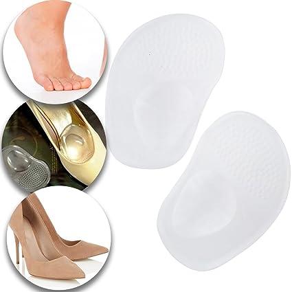 1 par de silicona zapatos tacones altos adhesivo Insert ...
