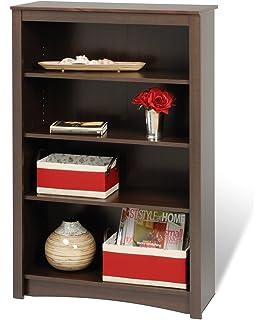 Prepac Sonoma 4 Shelf Bookcase 48 Inch