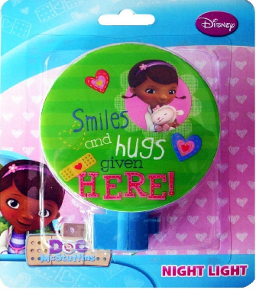 Disney Doc McStuffins Night Light, Assorted Styles
