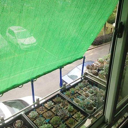 Malla Sombra, Tela Verde for Sombra de Sol - 90% de Bloqueo de Malla UV for la Cubierta de Flores de Plantas Invernadero Jardín Patio (Size : 4m x 50m): Amazon.es: Hogar