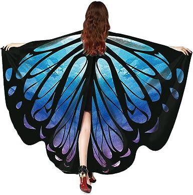 Capas y alas Capas y alas Disfraz de Alas Impreso Mariposa para ...