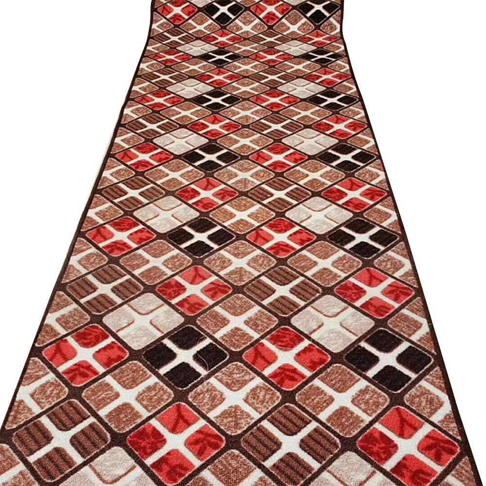 HAIPENG 廊下のカーペット 多色 ランナー ラグ 廊下 エリアラグ コリドー通路 カーペット 長いです エントランス マット きれいになること容易 にとって キッチン そして 入り口 (色 : A, サイズ さいず : 1.6x5m) 1.6x5m A B07PKV27Z7
