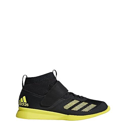 brand new 14b9c 0fe5d adidas Mens Crazy Power RK Lifting Shoes, Core BlackShock YellowCarbon,