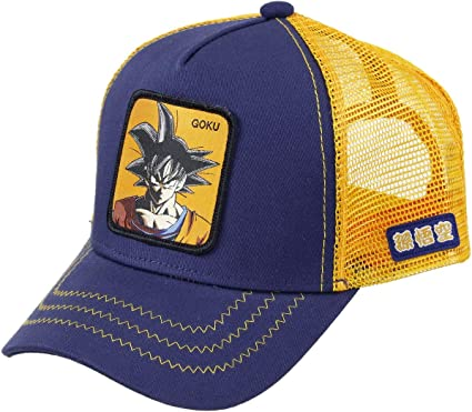 Capslab Son Goku Trucker cap Dragon Ball Z