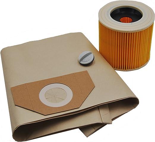10 bolsas para aspiradora + 1 filtro adecuado para Kärcher 6.959 ...