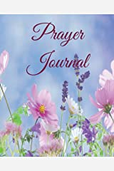 Prayer Journal: Wildflowers (Creeping Light Blank Books) (Volume 1) Paperback