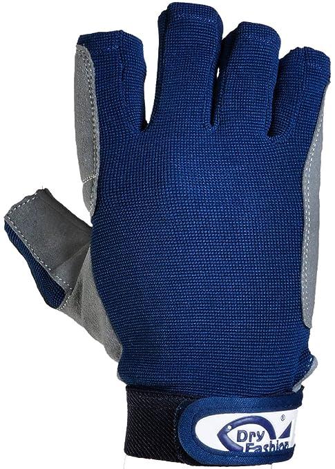 Handschuhe Bekleidung Navyline Segelhandschuhe Amara Kunstleder 2 Finger geschnitten Handschuhe Segeln