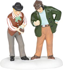 Department 56 Dickens Village Accessories Fish and Chips on Me Figurine, 2.5 Inch, Multicolor