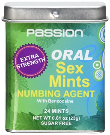 Using mints during oral sex