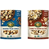 NATURE'S PATH Blueberry Pecan Crunch Granola & Coconut & Cashew Butter (PACK OF 2)
