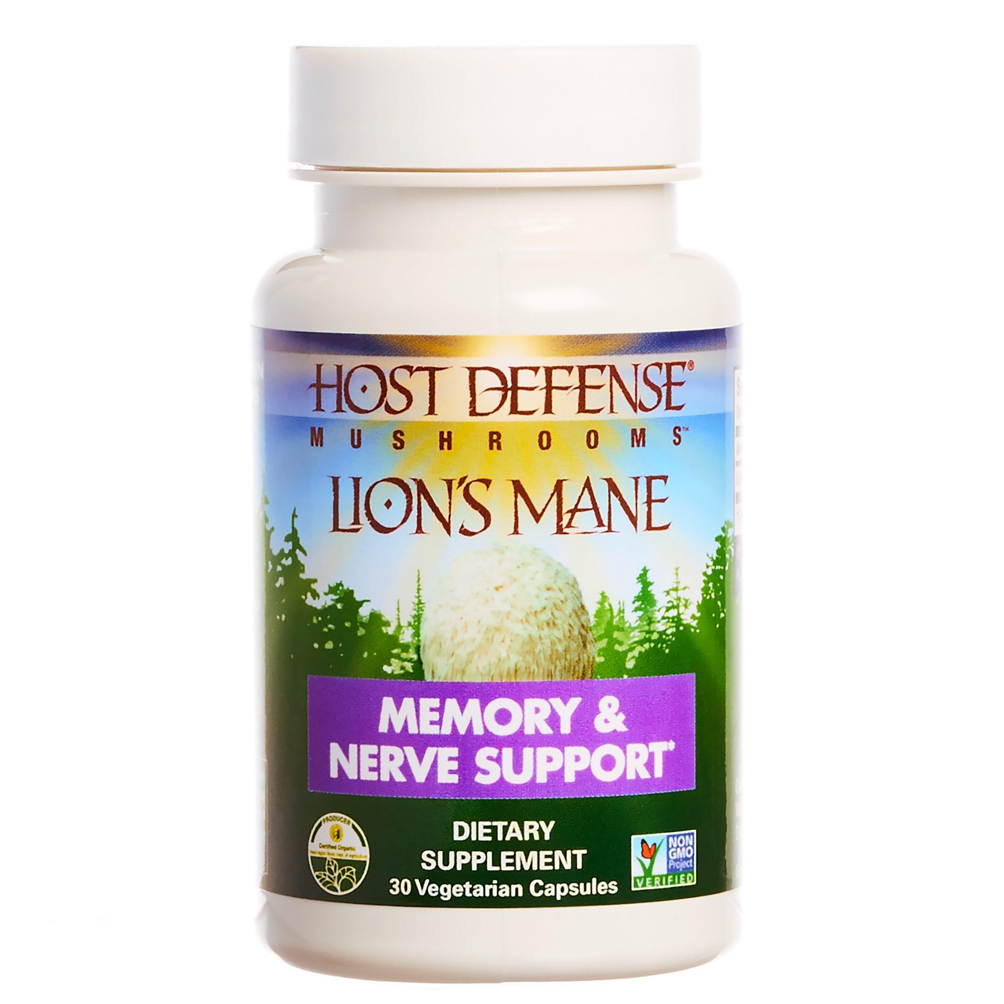 Host Defense® Lion's Mane Capsules