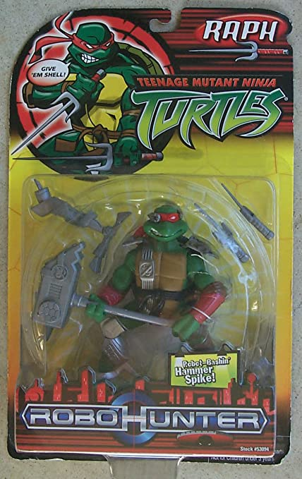 Amazon.com: Teenage Mutant Ninja Turtles Robo Hunter Raph ...