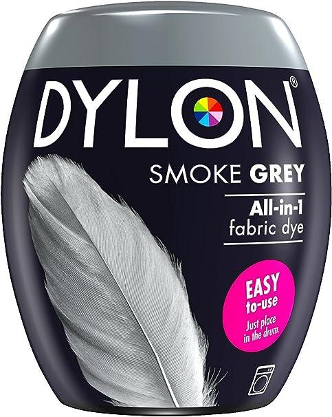 Tinte para ropa Dylon, a máquina, 350 g, color gris, 3 ...