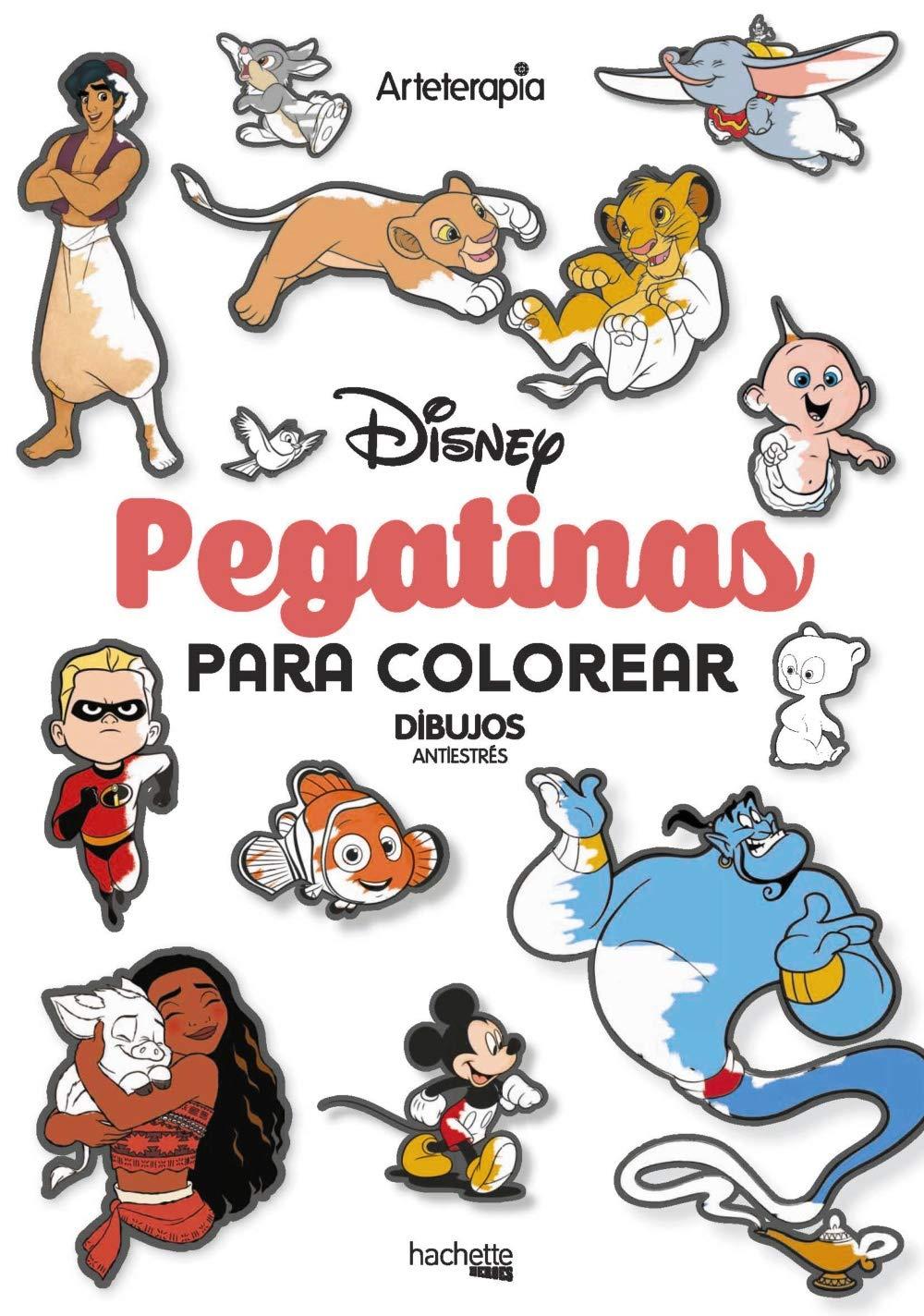 Pegatinas para colorear Disney Hachette Heroes - Disney - Colorear ...