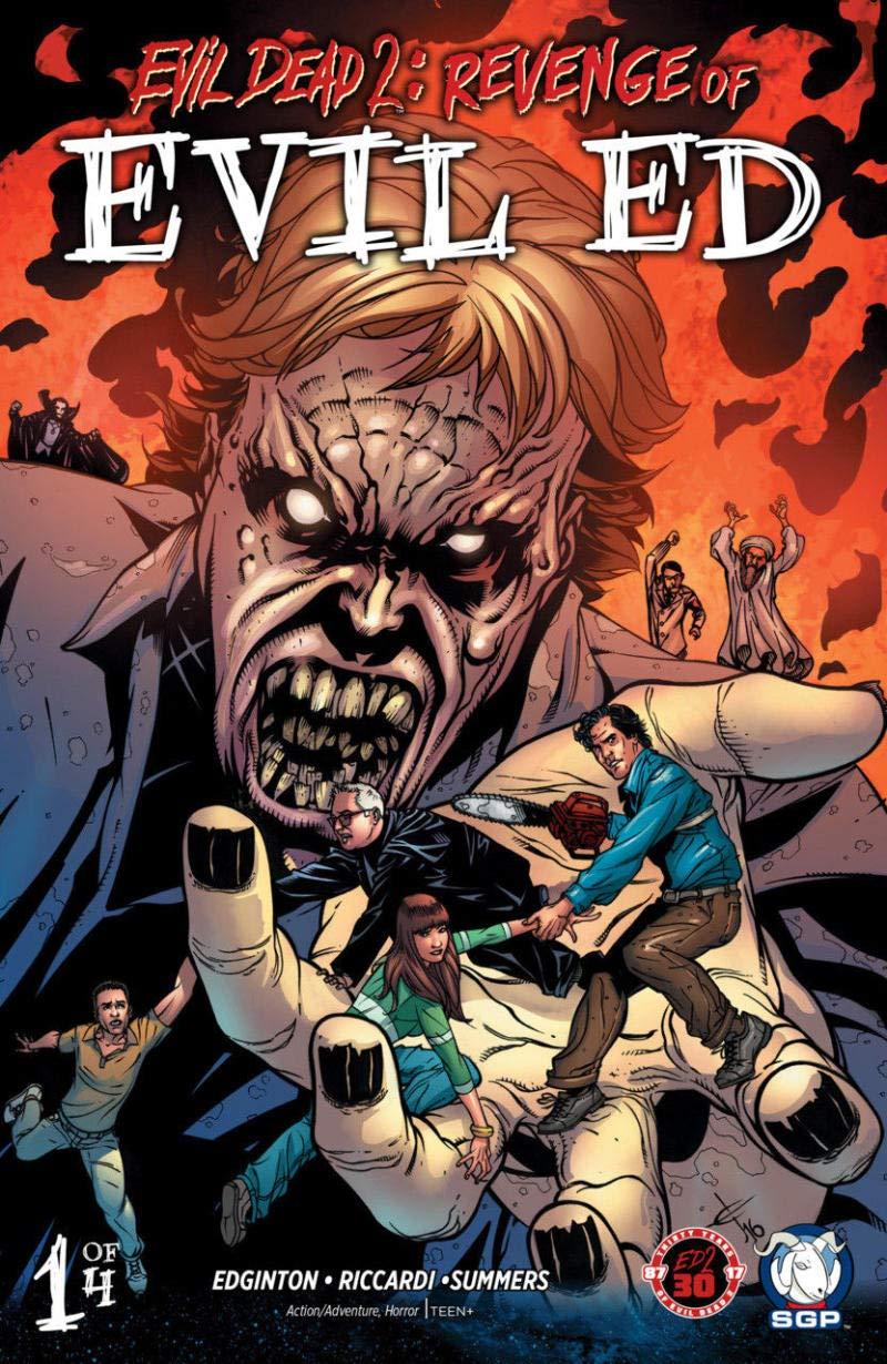 EVIL DEAD 2 - REVENGE of Evil Ed #1, VF/NM, Army of Darkness, 2017, Horror