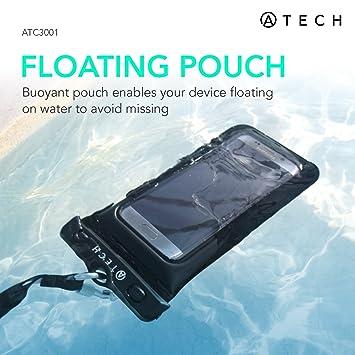 Amazon.com: Universal teléfono funda impermeable flotante ...
