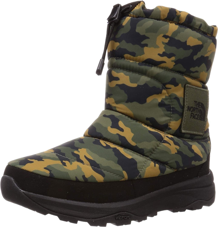 [ザノースフェイス] ブーツ ヌプシ ブーティー ウォータープルーフ VI ロゴ ウッドランドカモ