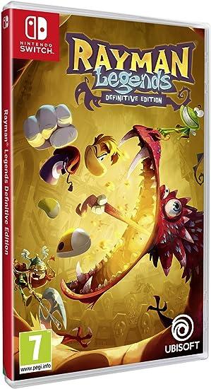 Rayman Legends - Definitive Edition - Nintendo Switch [Importación italiana]: Amazon.es: Hogar