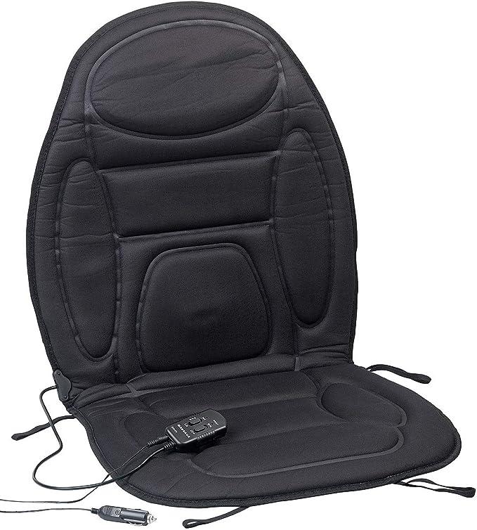 Lescars Auto Sitzheizung 2in1 Kfz Sitzauflage Mit Massage Und Heizfunktion Fernbedienung Sitzheizung Mit Massagefunktion Auto