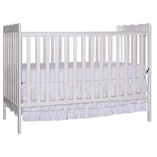 Amazon.com : Dream On Me, Classic 3 In 1 Convertible Crib, White : Baby