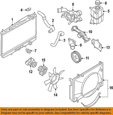 Terrific Amazon Com Genuine Nissan 21200 Ad201 Thermostat Assembly Automotive Wiring Cloud Geisbieswglorg
