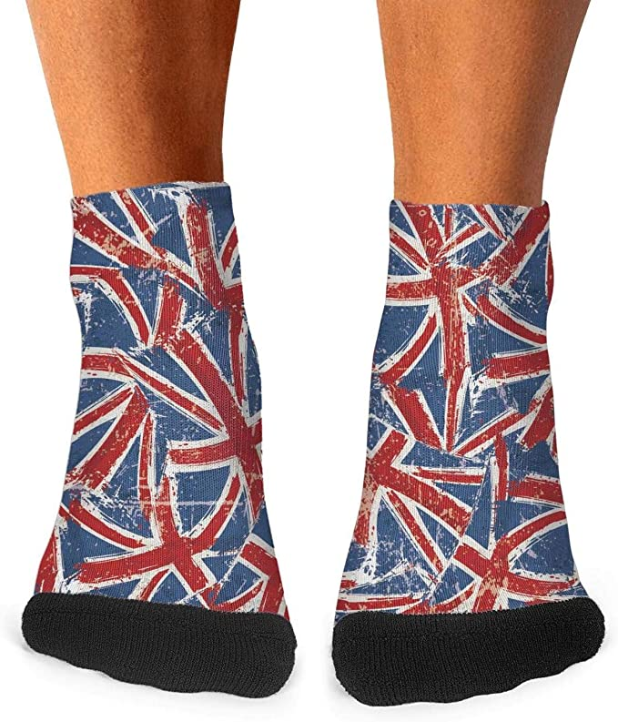 Greenland Flag Casual Socks Crew Socks Crazy Socks Soft Breathable For Women Sports Athletic Running
