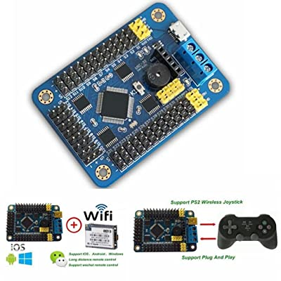 Hobbypower USB USC-32 Channel Servo UART Controller Board Unit for DIY Robot for Arduino: Toys & Games