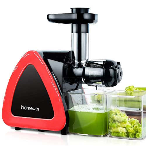 Homever Slow Masticating Juicer For Fruits And Vegetables