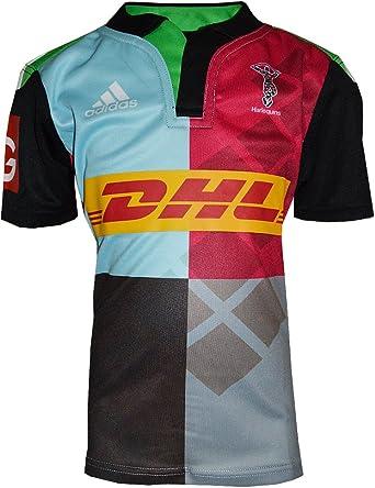 adidas Performance:Camisa Rugby HARLEQUINS JR Multicolor M64504: Amazon.es: Ropa y accesorios
