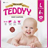 Teddyy Premium Baby Large Size Diaper (36 Count)