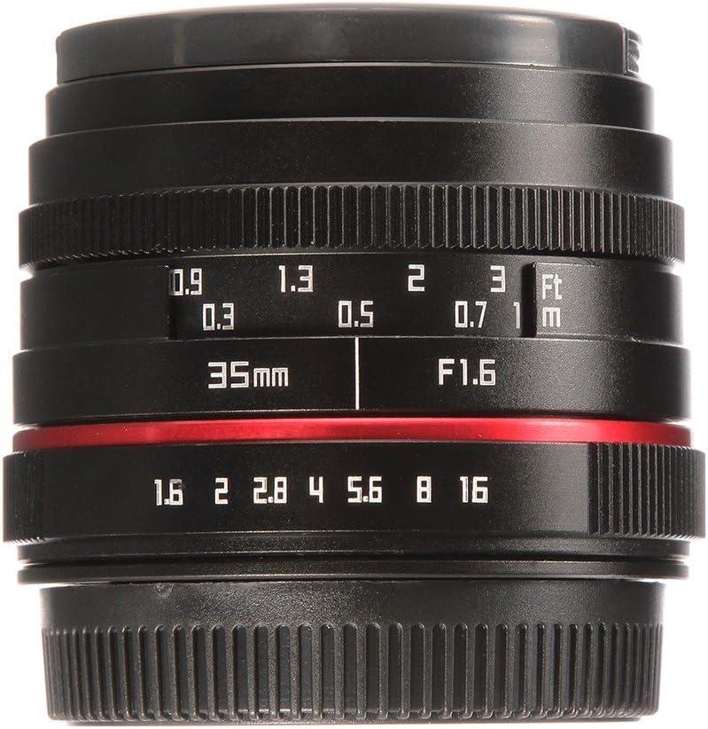 Hersmay 50mm F//1.8 Manual Focus MF Lens for Fujifilm FX Mount X-A1 X-A10 X-A2 X-A3 A-at X-M1 XM2 X-T1 X-T10 X-T2 X-T20 X-Pro1 X-Pro2 X-E1 X-E2 E-E2s