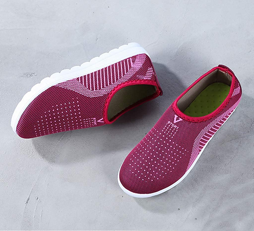 Mens Womens Fashion Sneaker Play Slip-On Loafer Walking Shoes Casual Moccasin Flats Slippers Indoor Outdoor Shoes
