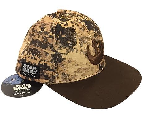 e2e80f2a283 Rogue One Official Star Wars The Rebels Flat Peak Cap Baseball Cap ...