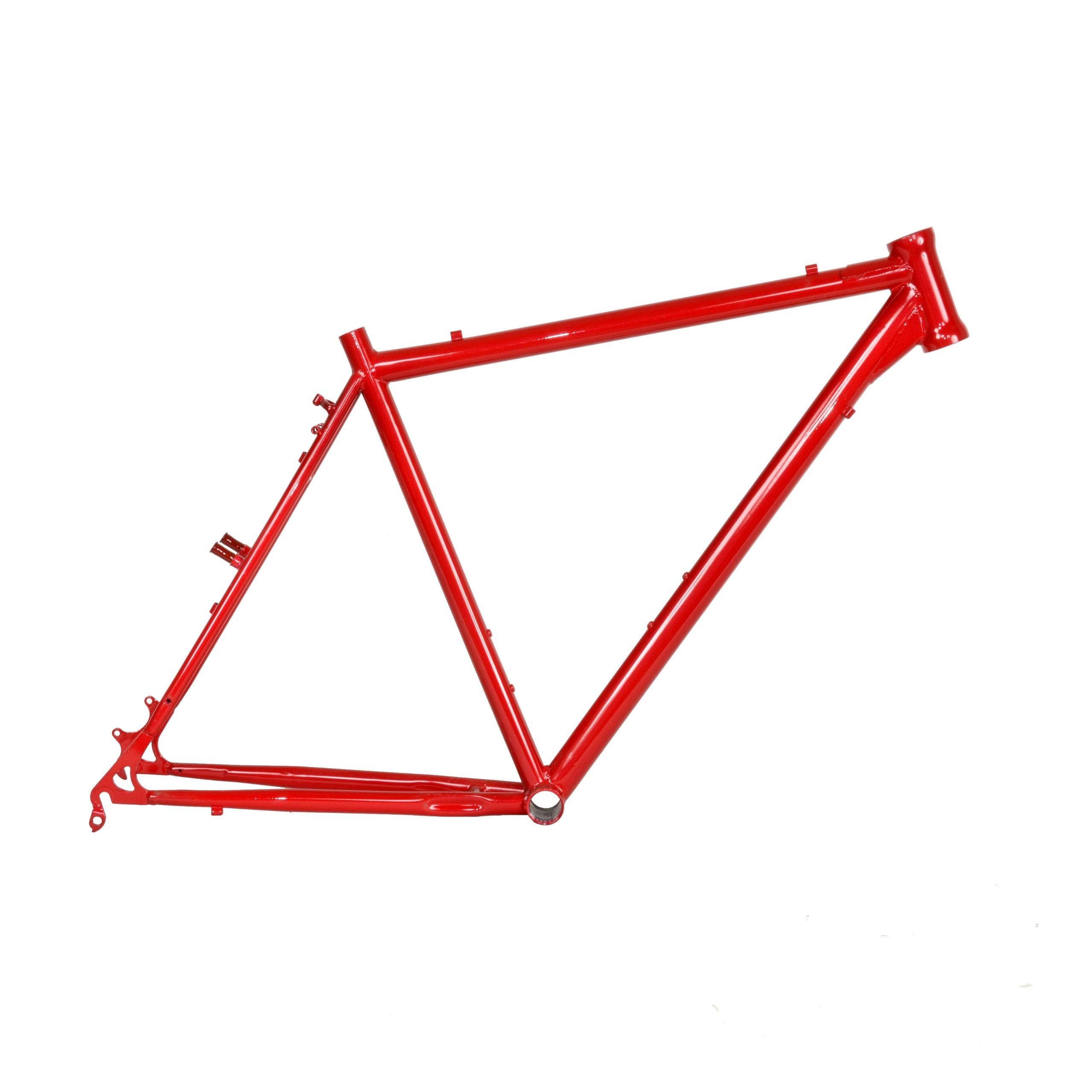 Cycle Force Cro-mo Cyclocross Frame, 46cm/X-Small, Red