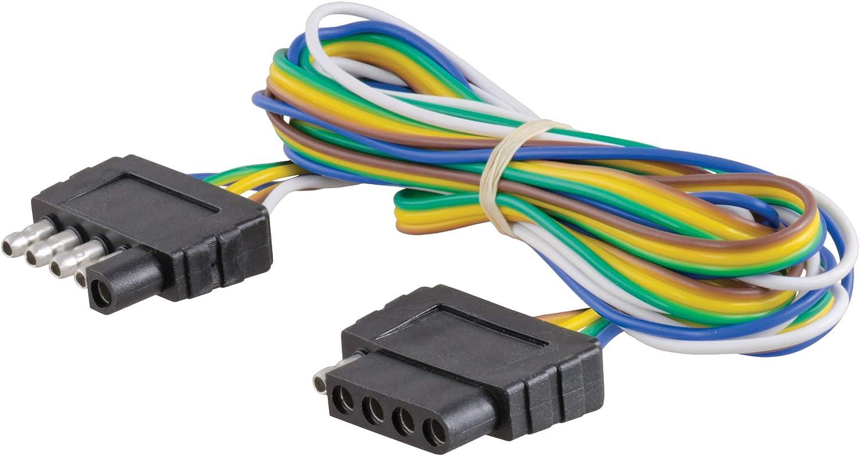 Curt 58550 5-Way Soporte de Conectores Macho y Hembra Conector
