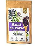 Açaí Puro Ecológico en Polvo, Pure Açaí Berry Organic Powder Biológico Orgánico, Bayas de Acai Organico en Polvo. Hecho…