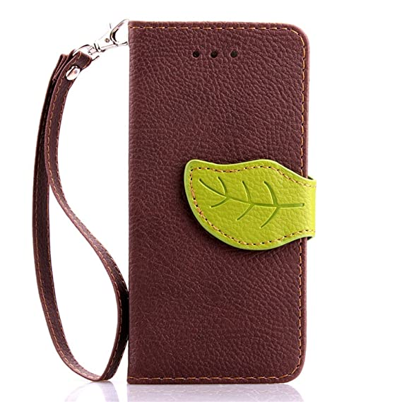 1274448feb5 Amazon.com: Coque Case for iPhone 6 Plus & 6S Plus TPU Silicone Foliage  Leather Book Style Flip Cover with Stand Wallet Card Holder Case,case 3,for  iPhone 6 ...