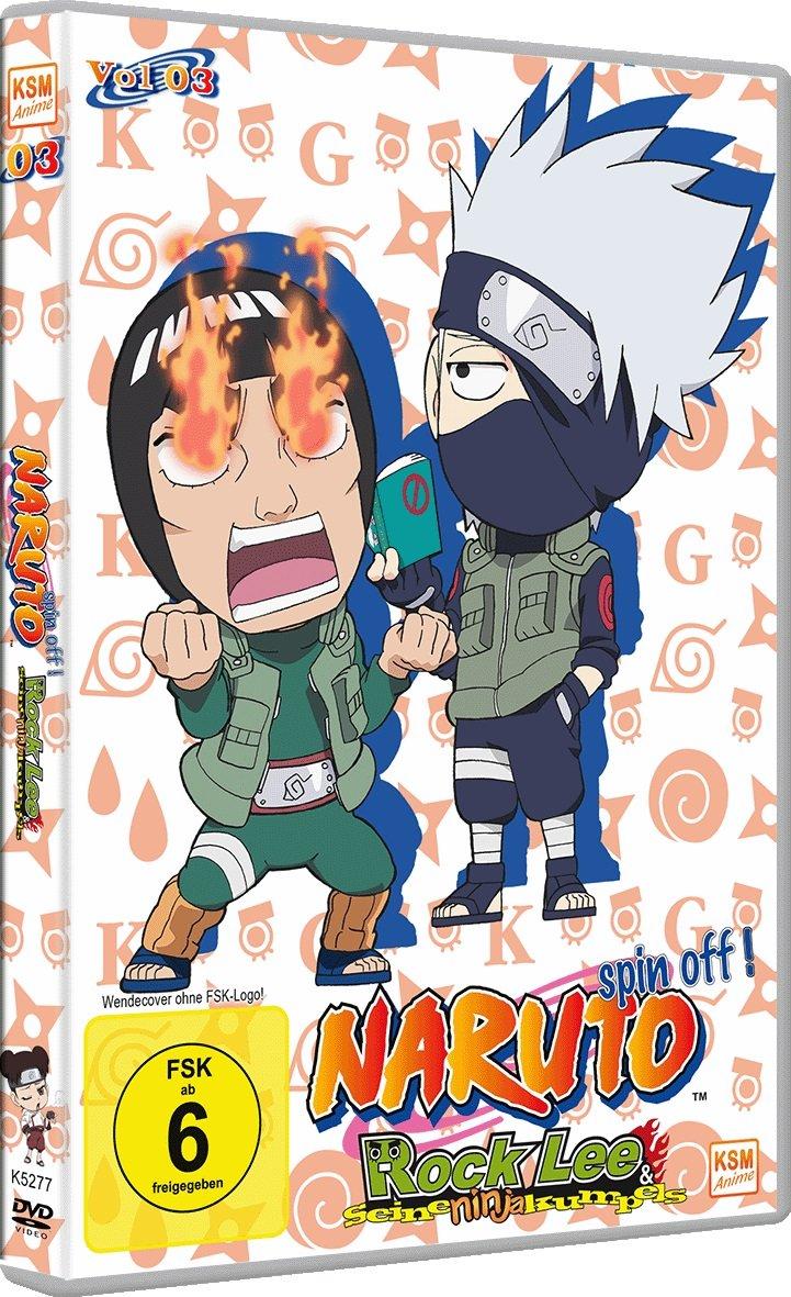 Naruto - Rock Lee und seine Ninja-Kumpels, Vol. 3 Alemania ...
