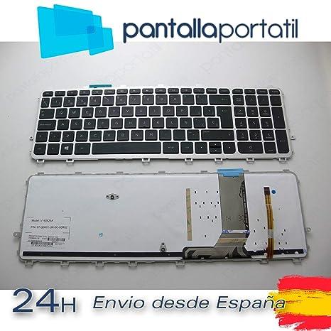 Desconocido Teclado español para HP Envy 15-j108la (F4H28LA) Envy 15-j108nf