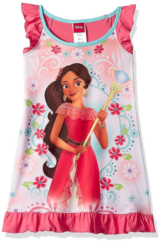 Amazon.com: Disney Girls\' Princess Elena Nightgown: Clothing