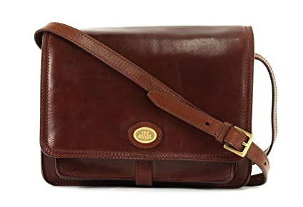 75677d4234f The Bridge Messenger Bag 04418201-14 Brown: Amazon.co.uk: Luggage