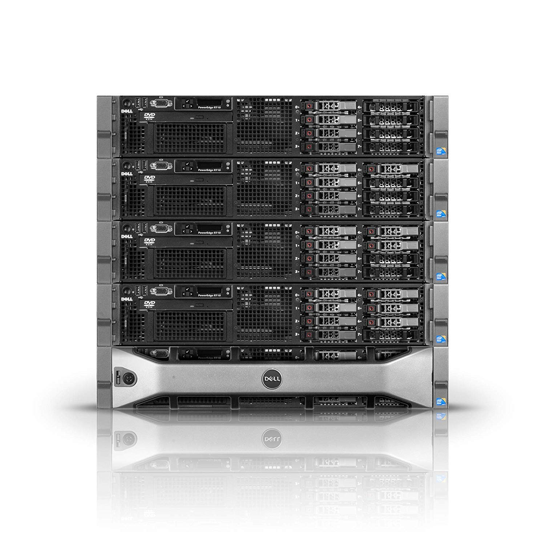 DELL PowerEdge R710 Server 2x 2.80Ghz X5660 6C 48GB  High-End