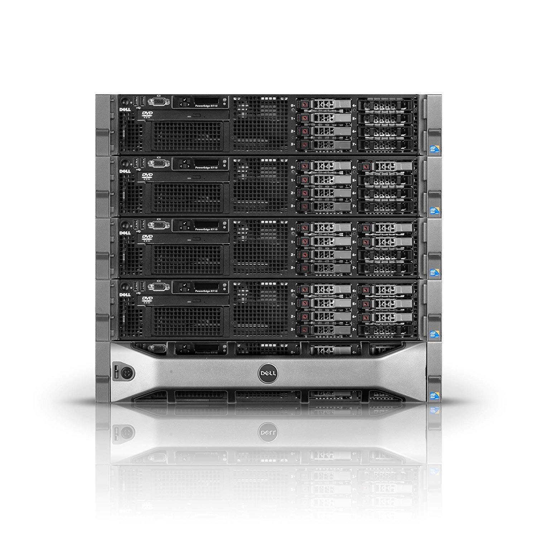 Dell PowerEdge R710 Server | 2x2.80GHz X5660 | 32GB | PERC6i | 4X 300GB (Renewed) by PowerEdge