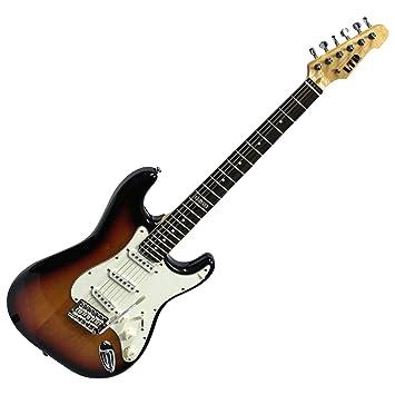 Esp Ltd st213r 3 TB guitarra eléctrica acabado Blem