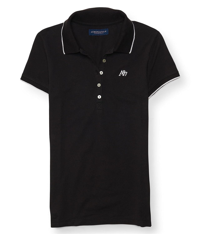 Aeropostale Womens Contrast Polo Shirt 9412