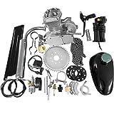 "80CC 26"" 28"" Bike Bicycle Motorized 2 Stroke Cycle Petrol Gas Engine Kit Set(Silver)"