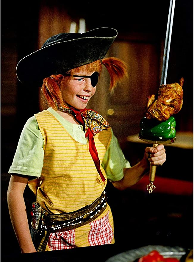 Pippi CALZELUNGHE COSTUME per donna licenza originale film COSTUME CARNEVALE