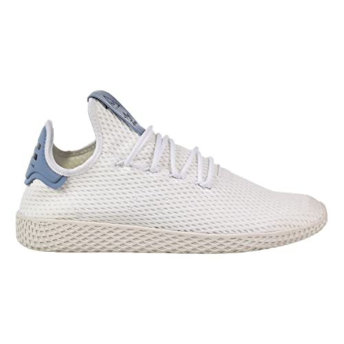 0da03fdc65c28 adidas Originals Pharrell Williams Tennis HU Men's Shoes White/White ...