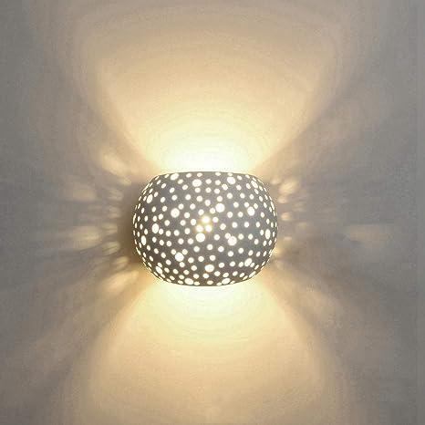 Applique Lampada da Parete LED 5W gesso Lampada da intonaco Design ...