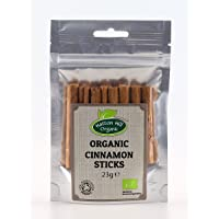 Organic True Cinnamon Sticks / Quills 23g by Hatton Hill Organic - Certified Organic